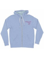 Sudadera Independent Barbee Cross French Terry Zip Sky Heather