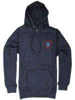 Sudadera Santa Cruz Screaming Hand Azul