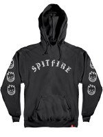 Sudadera Spitfire Old E Black White