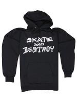 Sudadera Thrasher Skate And Destroy Black