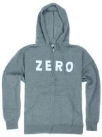 Sudadera Zero Army Zip Grey