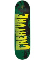 """Tabla Creature Stained Md Green 8.26"""" X 32.04"""""""