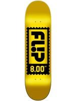 """Tabla Flip Odyssey Stamp Yellow 8.0"""" X 31.50"""""""
