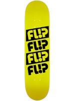 """Tabla Flip Team Odyssey Quattro Yellow 7.81"""" X 31.50"""""""