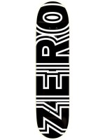 """Tabla Zero Classic Bold Black White 7.75"""""""