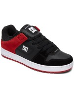 Tenis Dc Manteca Black Athletic Red