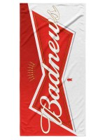 Toalla Grizzly Bud News White Red