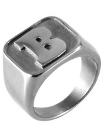 Anillo Baker Capital B Silver
