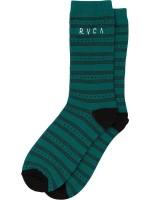 Calcetas RVCA Harper Teal Green