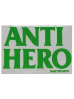 Calcomanía Antihero Blackhero Verde 11.5X16.4cm