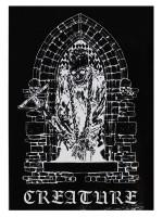 Calcomanía Creature Hate Eternal Black White 10X14.1cm