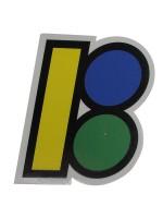 Calcomanía Plan B Logo Brazil 7X8.9cm