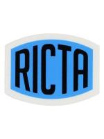 Calcomanía Ricta Logo Black 5X4cm