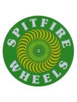 Calcomanía Spitfire Og Classic Fill Green 7.2cm Diametro