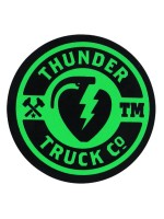 Calcomanía Thunder Mainline Green 6.4cm Diametro
