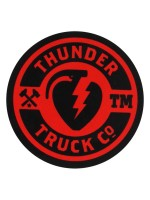 Calcomanía Thunder Mainline Red 6.4cm Diametro