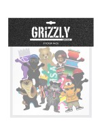 Calcomanías Grizzly Character Pack