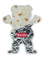 Calcomanía Grizzly Joey Burrito Bear 12.7X10cm