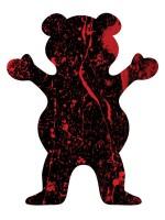 Calcomanía Grizzly Xl Bear Blood Splatter 12.7X10cm