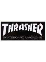 Calcomanía Thrasher Skate Mag Black White 4.1x1.9cm
