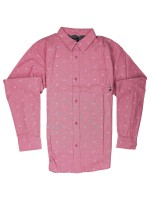 Camisa Fourstar Calico M/L Brick Dust