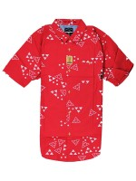 Camisa Fourstar Mariano Lakai Washed Red