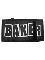Cartera Baker Brand Logo Trifold Black