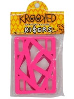 Elevadores Krooked Hot Pink 1/8""