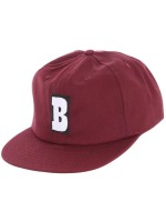 Gorra Baker Capital B Maroon