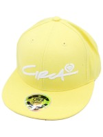 Gorra Circa Select Script Fitted Banana