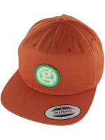 Gorra Girl Circle G 5 Panel Strap Back Rust Orange