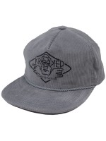 Gorra Krooked Arketype Unstructured Grey