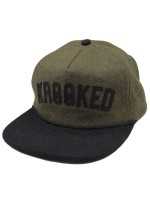 Gorra Krooked Ksb Arch Unstructured Green