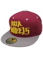 Gorra Rata Wheels Og Logo Vino Gris