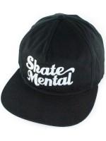 Gorra Skate Mental Script Logo Black