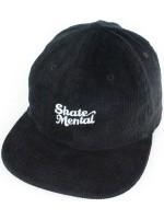Gorra Skate Mental Script Logo Black Pana