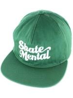 Gorra Skate Mental Script Logo Green