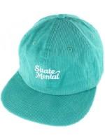 Gorra Skate Mental Script Logo Teal Pana