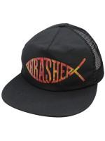Gorra Thrasher Fish Mesh Black