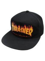 Gorra Thrasher Flame Black