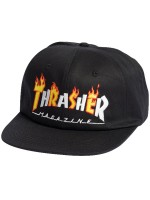 Gorra Thrasher Flame Mag Black