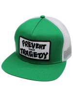 Gorra Thrasher Prevent This Tradegy Trucker Green White