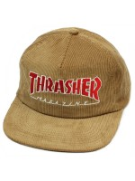 Gorra Thrasher Magazine Logo Corduroy Gold
