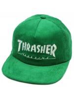 Gorra Thrasher Magazine Logo Corduroy Green
