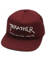 Gorra Thrasher New Religion Maroon