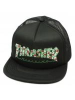 Gorra Thrasher Roses Mesh Black