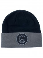 Gorro Spitfire Circle Patch Cuff Dark Blue Grey