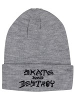 Gorro Thrasher Skate And Destroy Grey