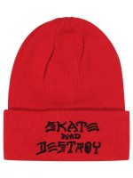 Gorro Thrasher Skate And Destroy Red