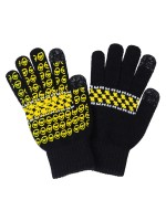 Guantes Krooked Zip Zing Full Finger Black